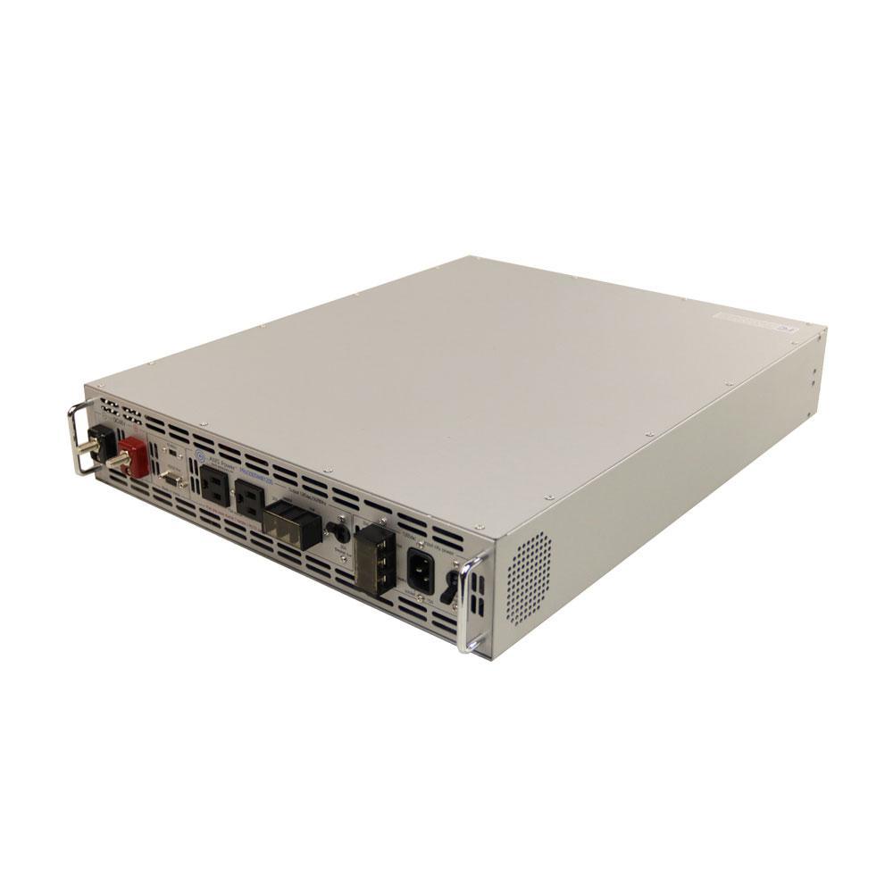 3,000-Watt Pure Sine Rack Mount Inverter 48-Volt DC to 120-Volt AC 2U