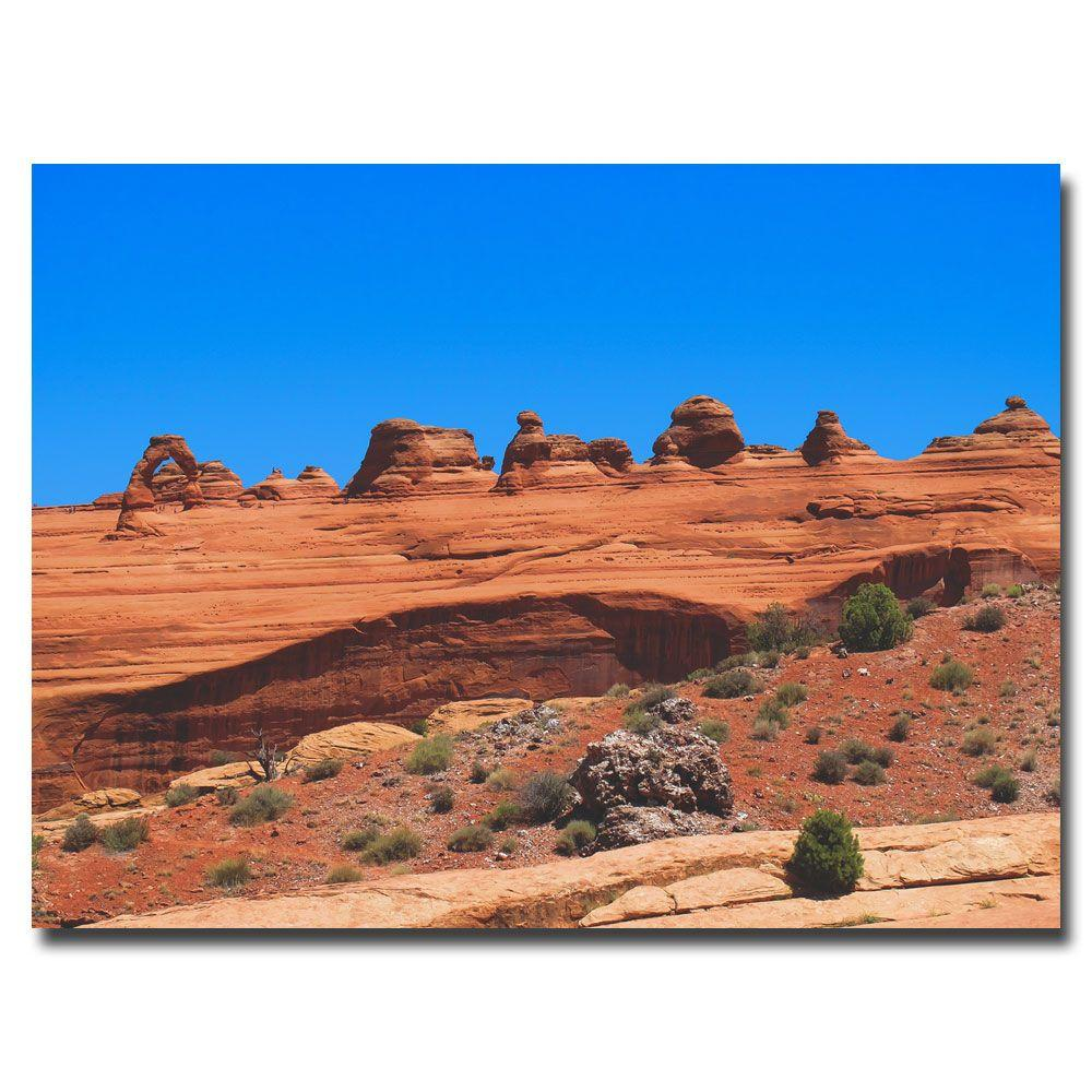 18 in. x 24 in. Arches National Park Canvas Art