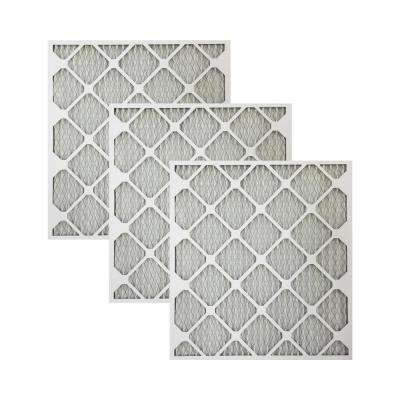 3 Piece 3 Pack 14 x 14 x 1 3 Pack 14 x 14 x 1 Nordic Pure 14x14x1 MERV 10 Pleated Plus Carbon AC Furnace Air Filters