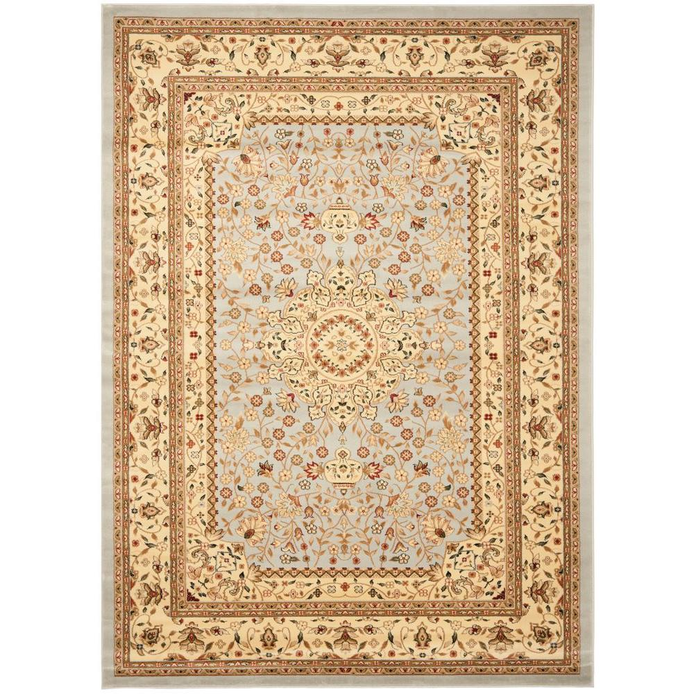Lyndhurst Gray/Beige 8 ft. 11 in. x 12 ft. Area Rug