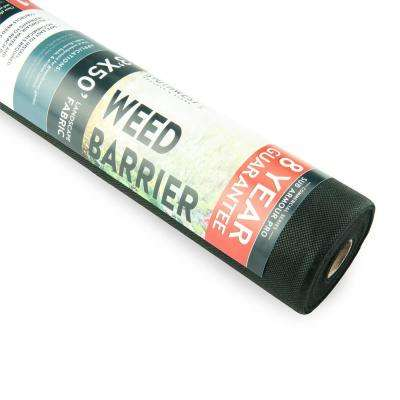 3 ft. x 50 ft. of 8-Year Guarantee Heavy-Duty, Commercial Grade Weed Barrier