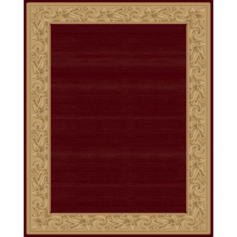 Red Border Rug Rugs Ideas