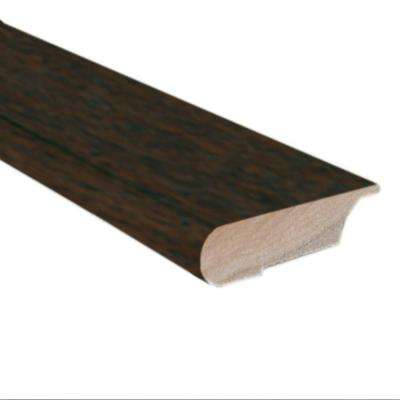 Hickory Chestnut 0.81 in. Thick x 3 in. Wide x 78 in. Length Lipover Stair Nose Molding