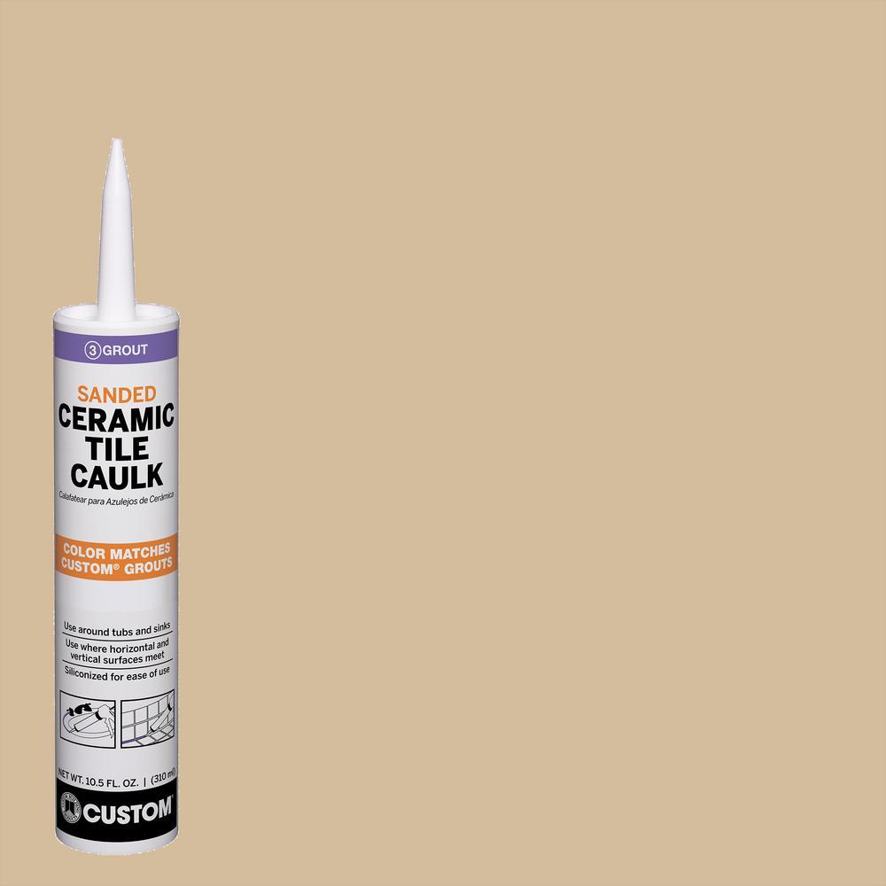 Polyblend #122 Linen 10.5 oz. Sanded Ceramic Tile Caulk