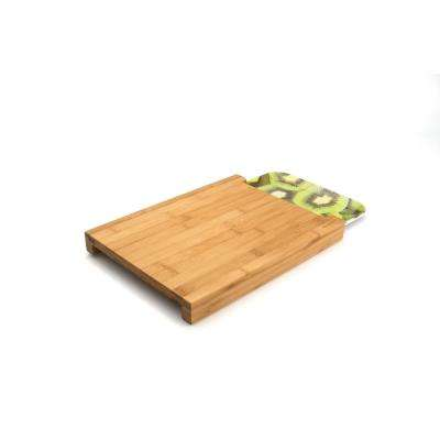 Studio 2-Piece Bamboo Cutting Board with Tray