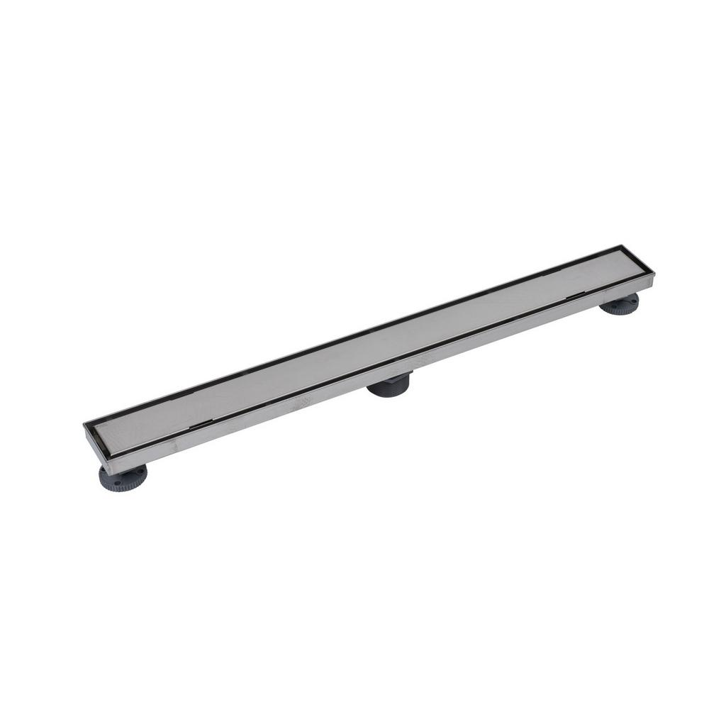 Designline 32 in. SS Linear Drain Tile-in Grate