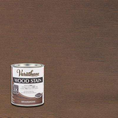 1 qt. 3X Briarsmoke Premium Wood Interior Stain (Case of 2)