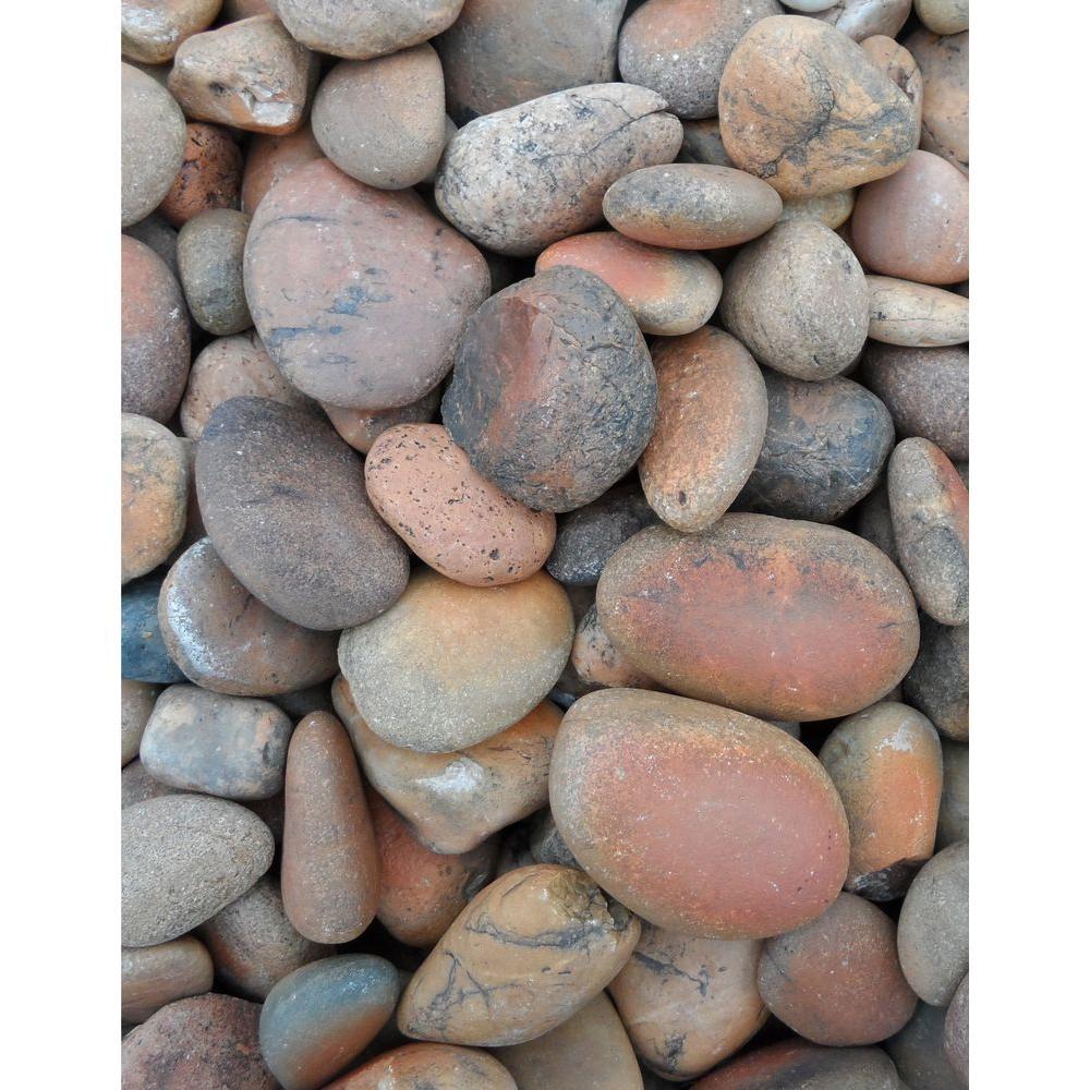 Butler Arts 3 in. to 5 in. Sunburst Landscaping Pebble (3000 lb. Pallet)