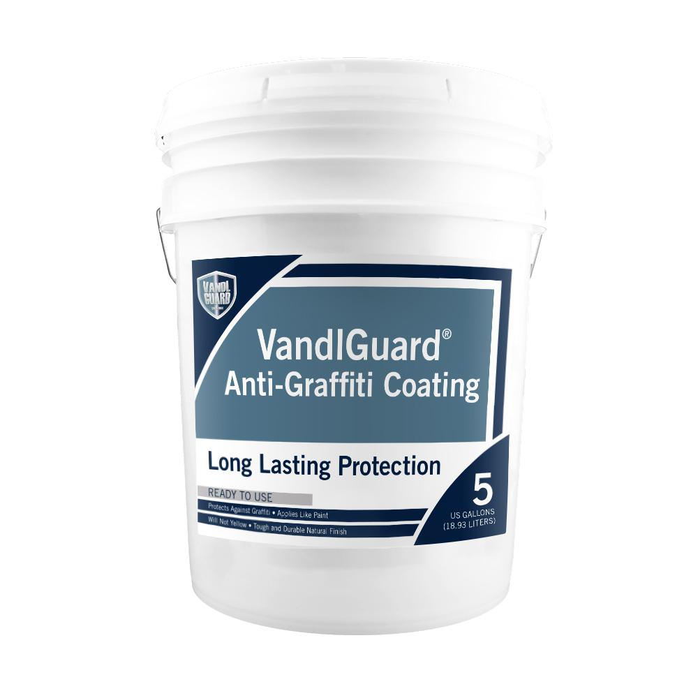 Anti Graffiti Clear Coat For Floors : Rain guard vandlsystem gal vandlguard non sacrificial
