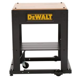 Dewalt Mobile Thickness Planer Stand Dw7350 The Home Depot