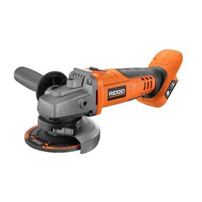 18-Volt Cordless 4-1/2 in. Angle Grinder (Tool Only)