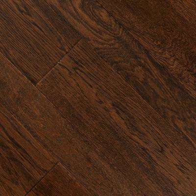 HandScraped Distressed Montecito Oak3/8 in.x 3-1/2 in. 6-1/2 in.Wx Varying L Engineered Hardwood Flooring(26.25sq.ft/cs)