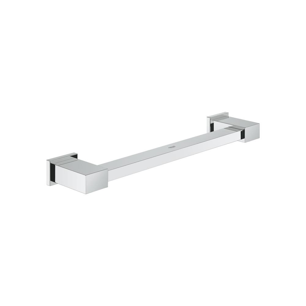 Beliebt GROHE Essentials Cube 12 in. Grab Bar in StarLight Chrome-40514001 JN41