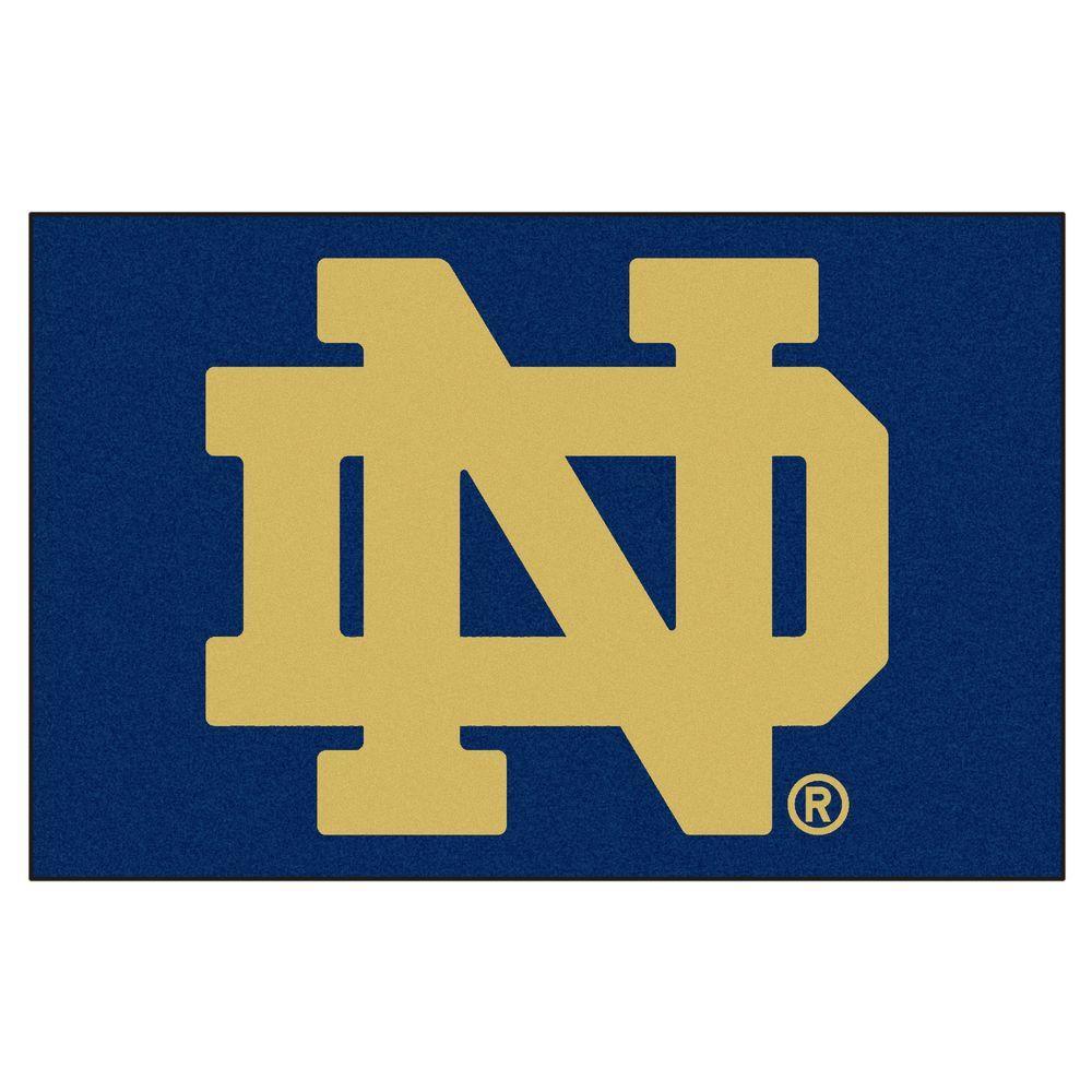 Fanmats Notre Dame University 1 Ft 7 In X 2 6