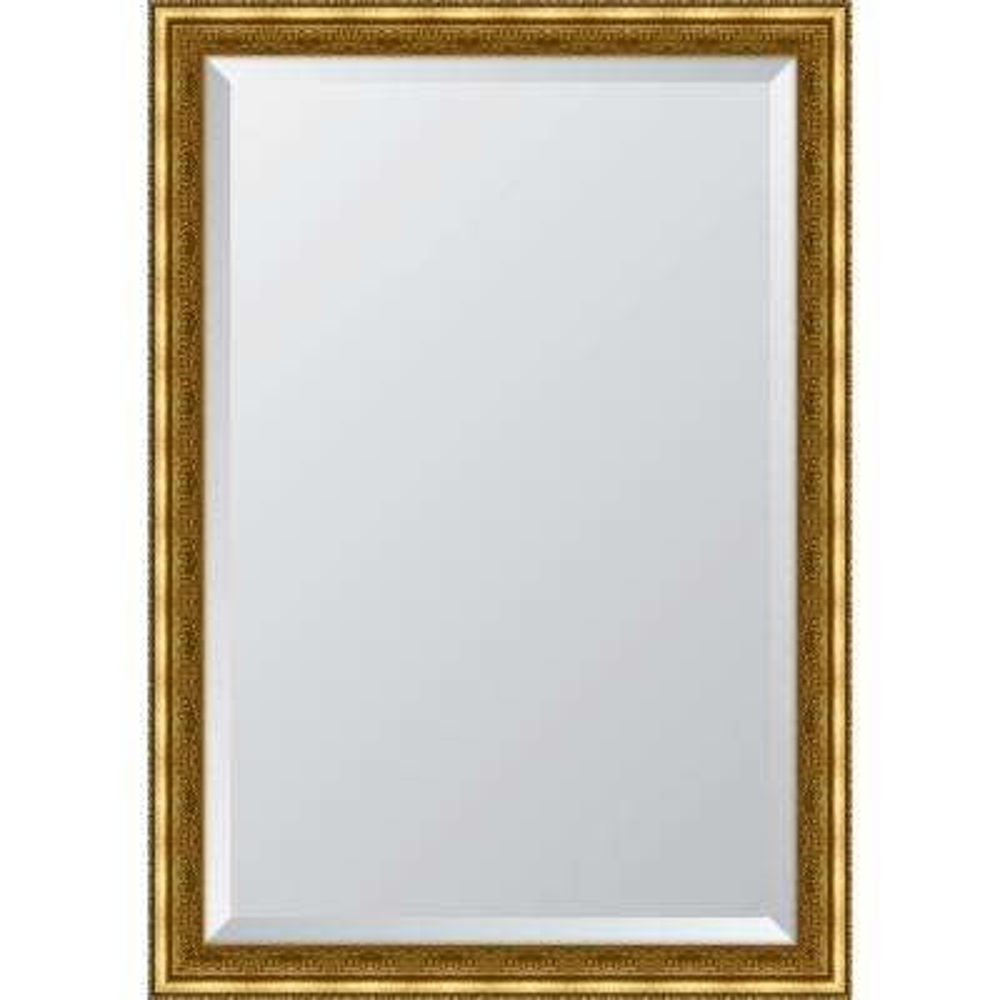 29 in. x 41 in. Framed Gold Ornate Mirror