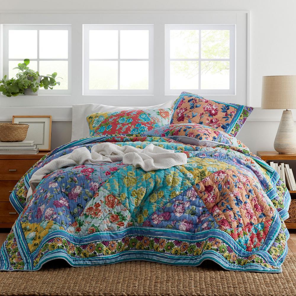 The Company Store Remington Floral Cotton Twin Quilt