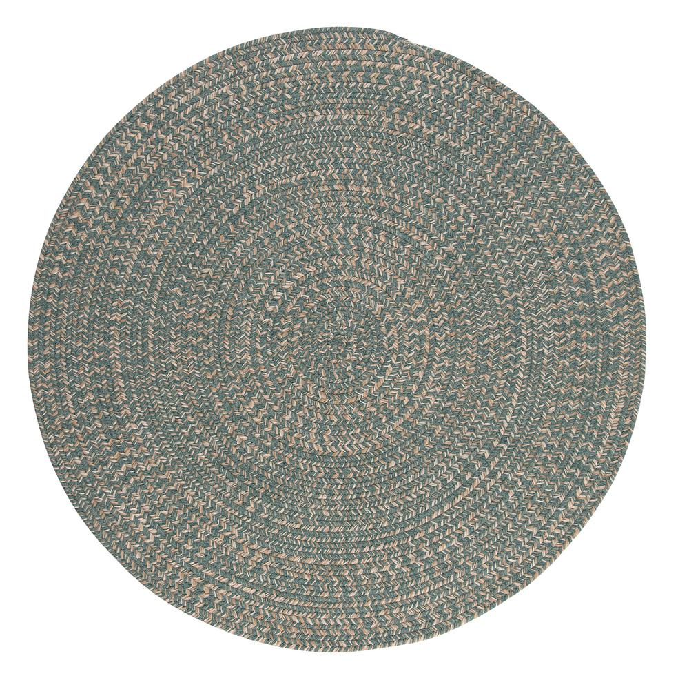 Home Decorators Collection Cicero Teal 8 Ft X 8 Ft Round