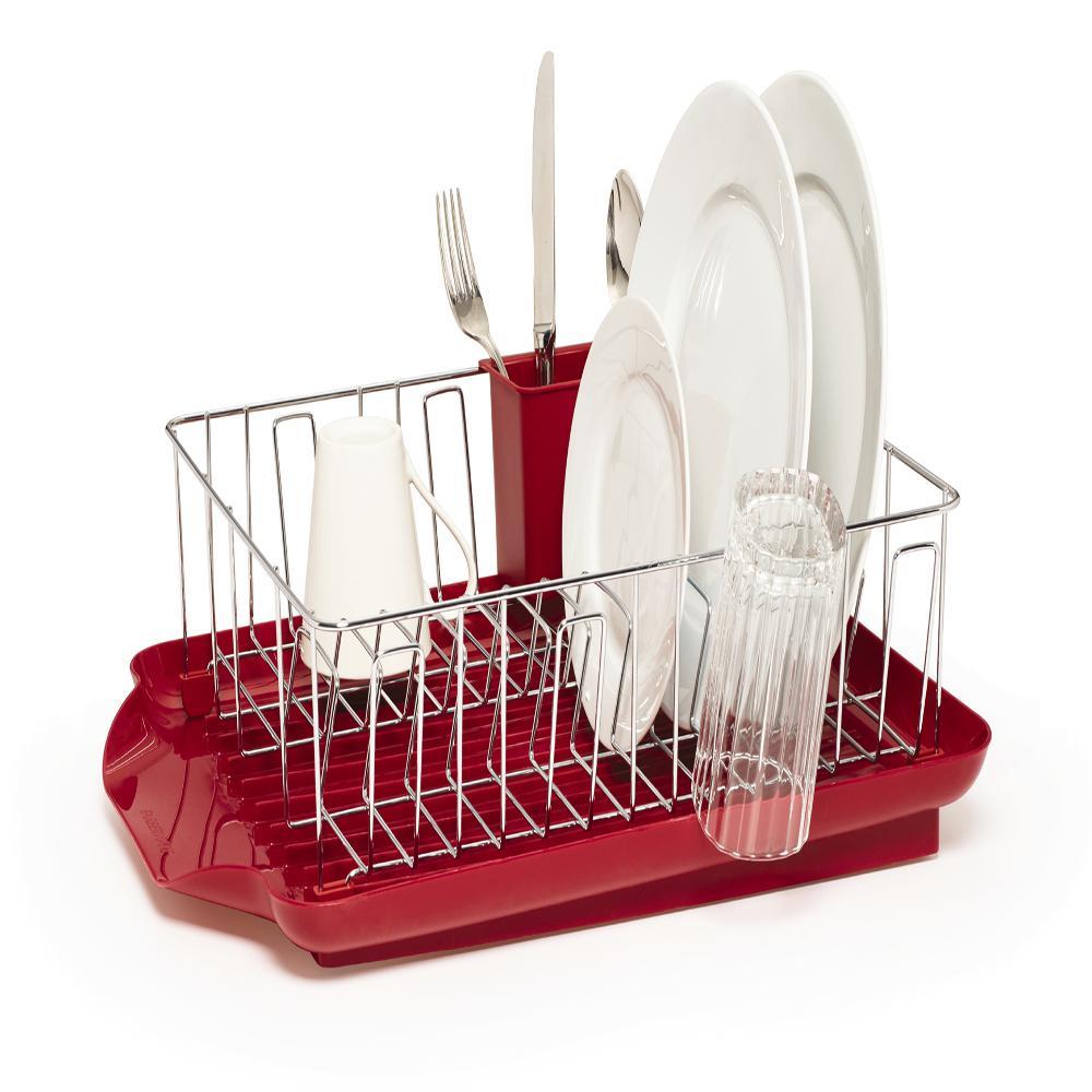 Professional 3-Piece Dish Rack Set