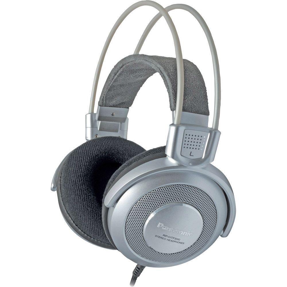 Panasonic Pro Studio Monitor-Style Headphones - Silver