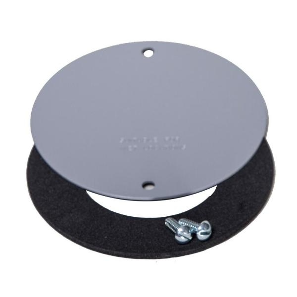 4 in. Round Weatherproof Blank Cover
