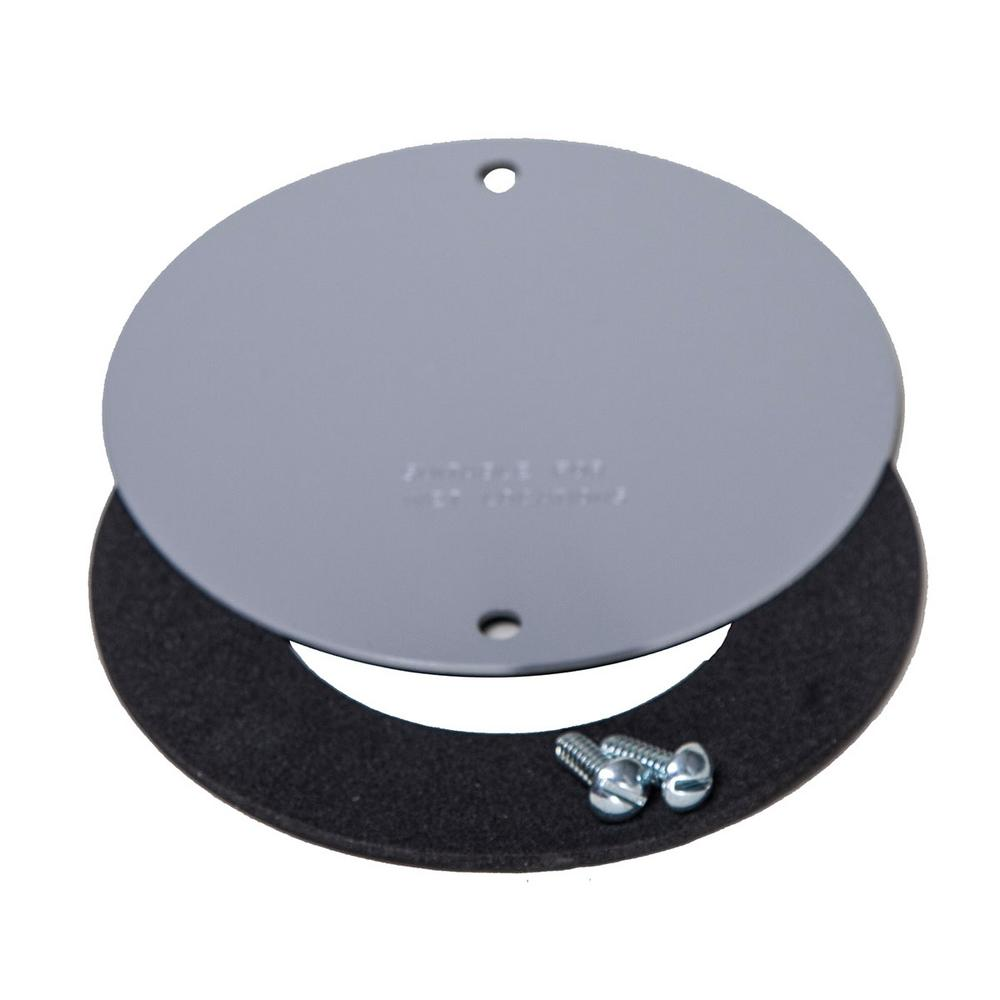 BELL 4 in. Round Weatherproof Blank Cover