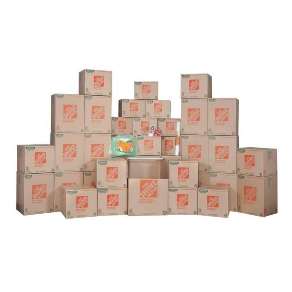 84-Box 3 Bedroom Moving Kit
