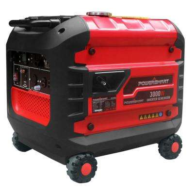 3000-Watt Gas Powered Inverter Generator