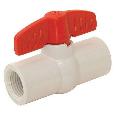 2 in. x 2 in. Sch. 40 PVC IPS Ball Valve