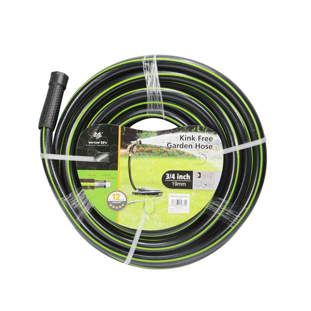 Worth Garden Kink Free 3/4 In. Dia X 100 Ft. Heavy Duty