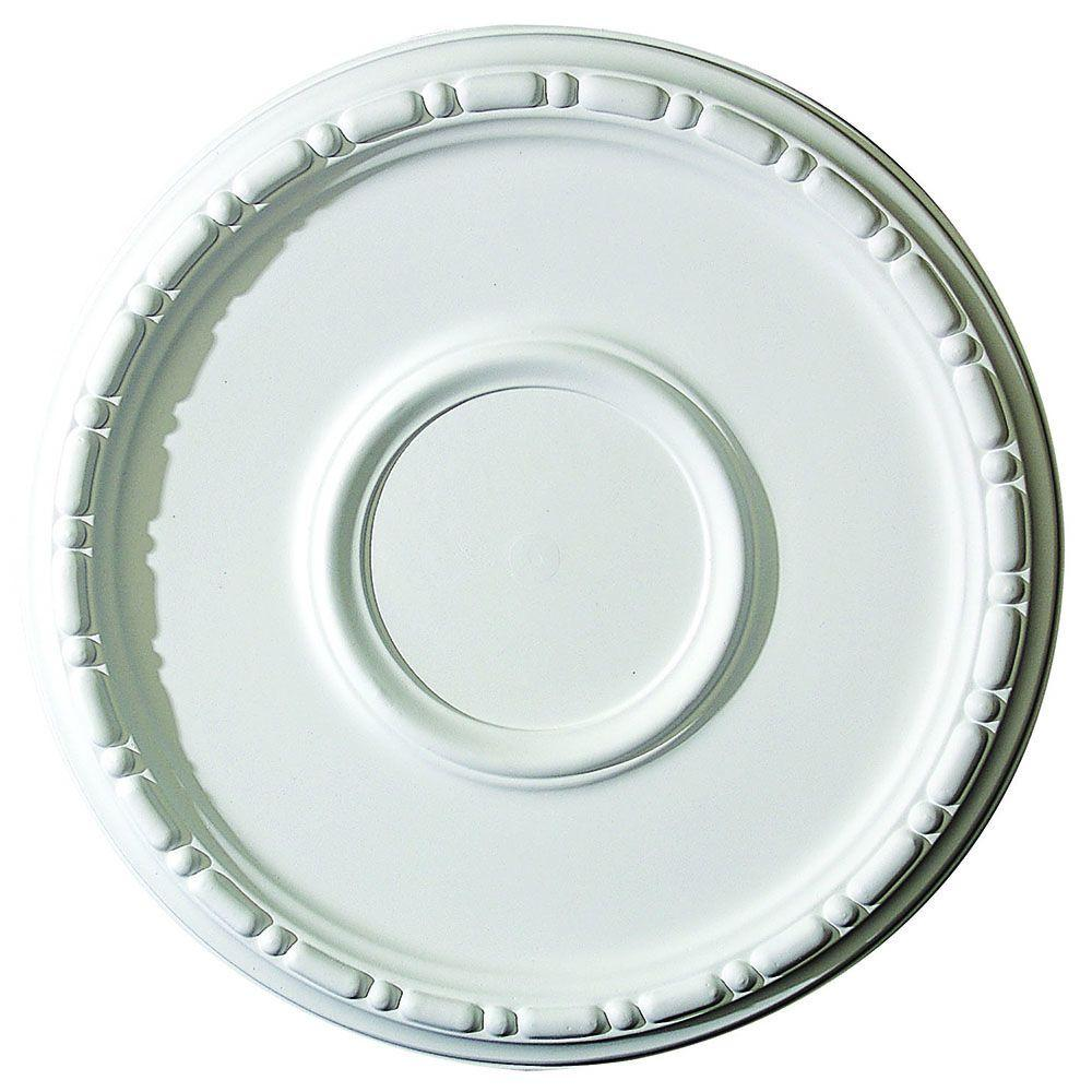 American Pro Decor 16-1/2 in. x 1-1/2 in. Bead and Barrel Polyurethane Ceiling Medallion