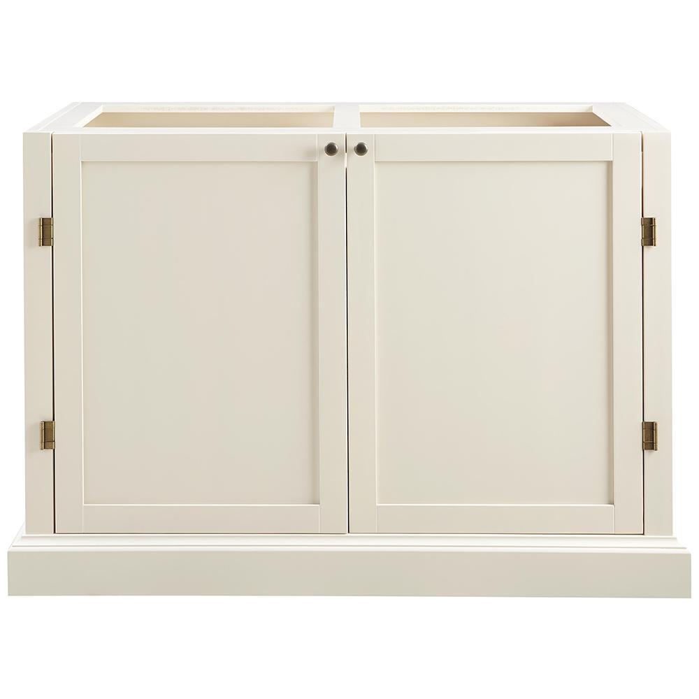 Prescott Polar White Modular 4 Drawer Pantry Base