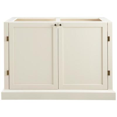 Prescott Polar White Modular 4 Drawer Pantry Base