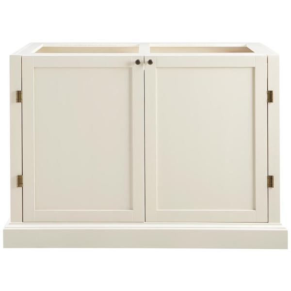 Home Decorators Collection Prescott Polar White Modular 4 Drawer Pantry Base