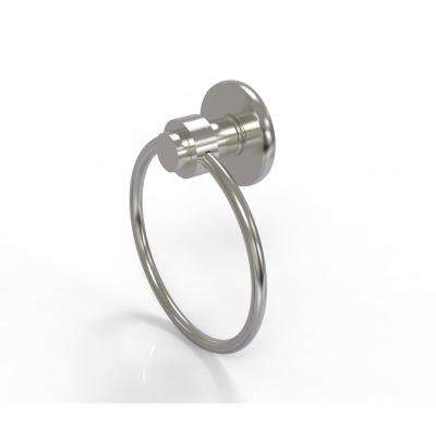 Mercury Collection Towel Ring in Satin Nickel