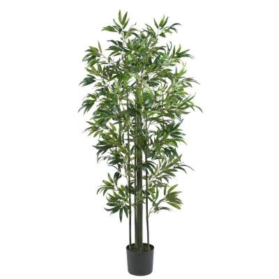 6 ft. Bamboo Silk Tree (Green Trunks)