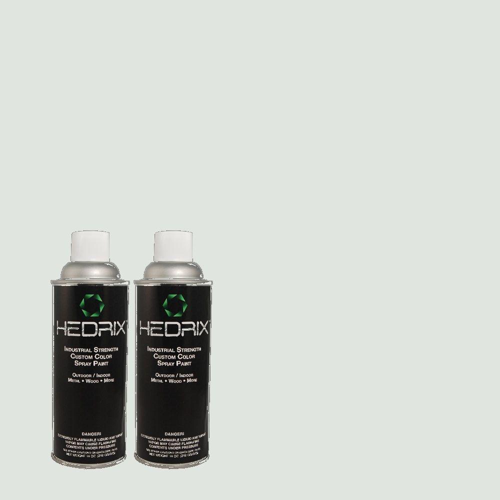 Hedrix 11 oz. Match of MQ3-51 Crystalline Falls Semi-Gloss Custom Spray Paint (8-Pack)
