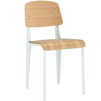 Natural White Cabin Dining Side Chair