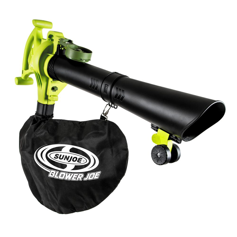 Electric Blowers Product : Electric handheld blower vacuum and mulcher in green