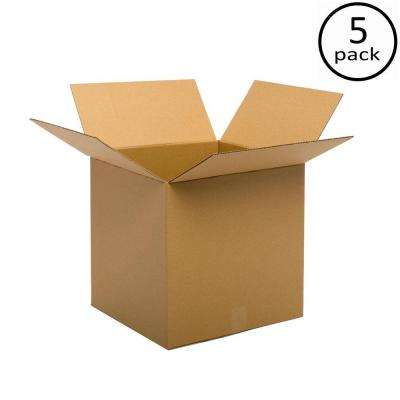 30 in. L x 30 in. W x 30 in. D Moving Box (5-Pack)