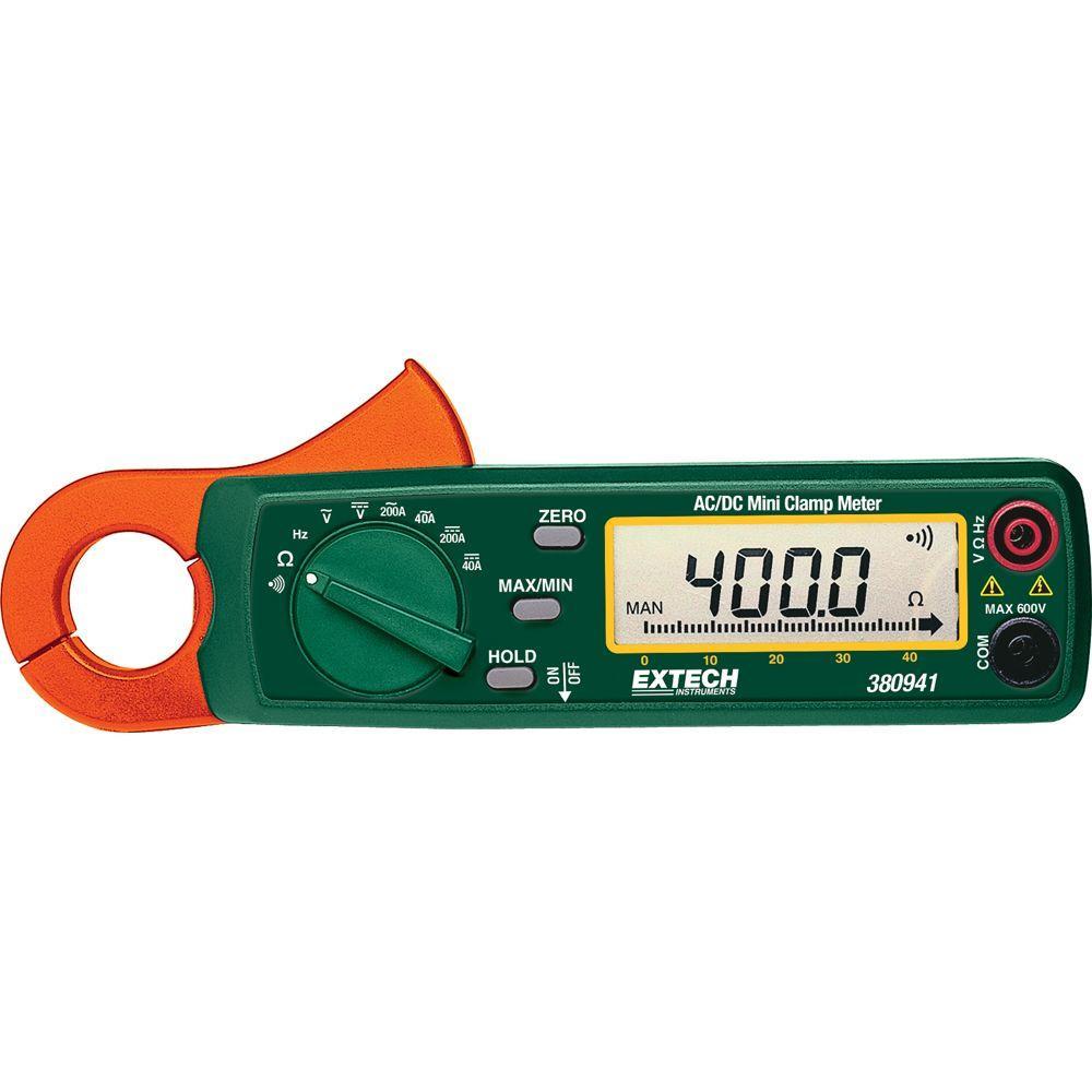 200-Amp AC/DC Mini Clamp Meter