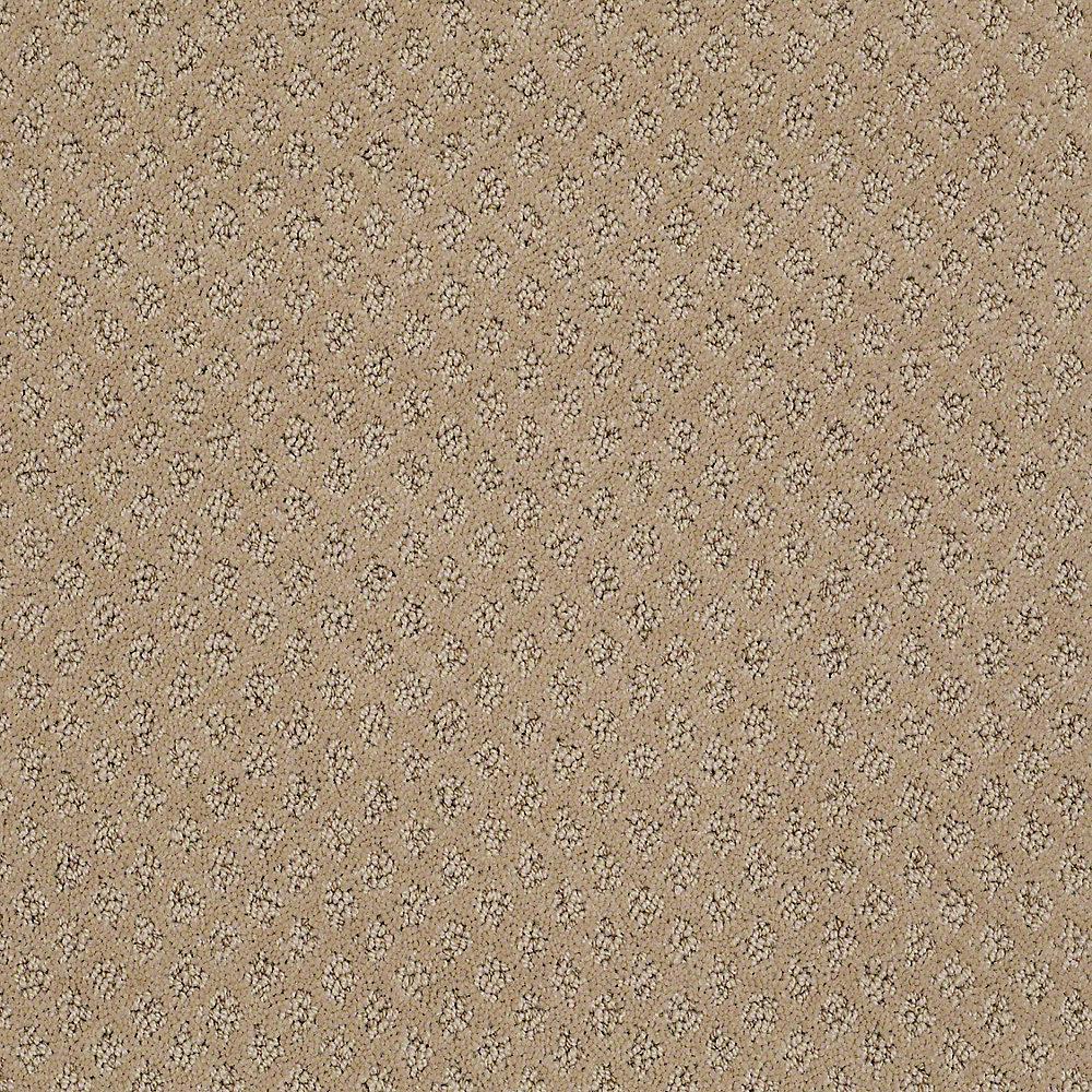 Lifeproof Crown Color Antelope Pattern 12 Ft Carpet