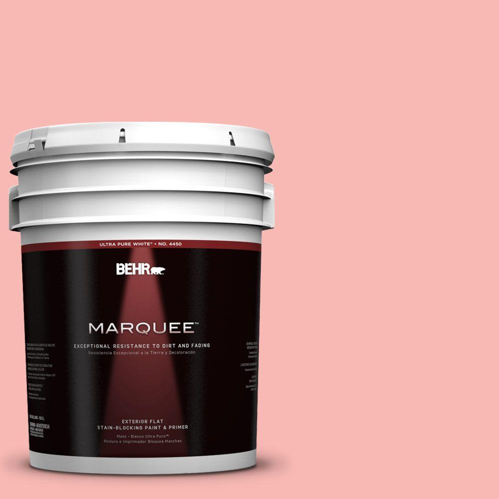 BEHR MARQUEE 5-gal. #150A-3 Mixed Fruit Flat Exterior Paint