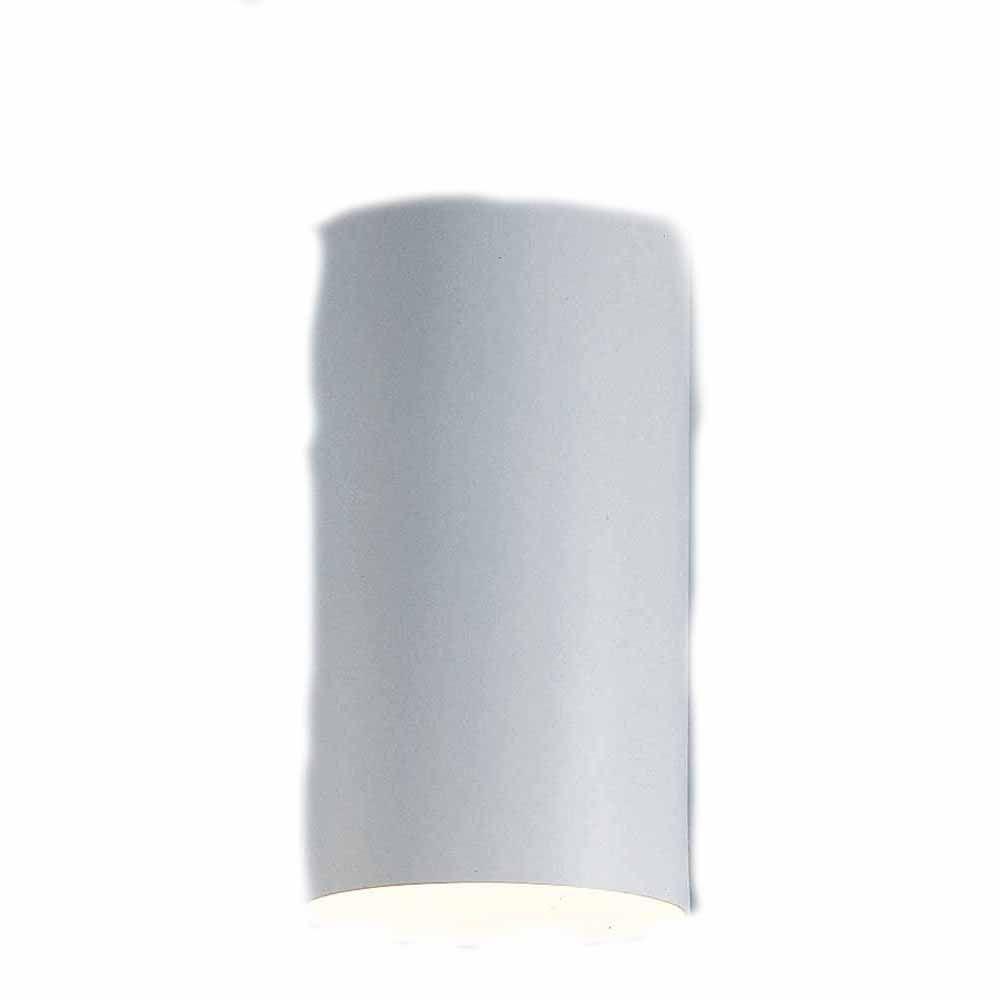 Lenor 1-Light White Incandescent Wall Flush Mount Light