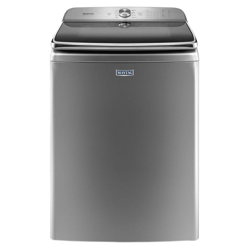 Maytag 6 2 Cu Ft High Efficiency Metallic Slate Top Load