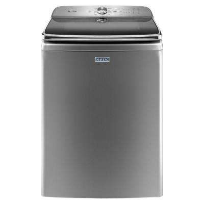 6.2 cu. ft. High-Efficiency Metallic Slate Top Load Washing Machine with POWERWASH System, ENERGY STAR