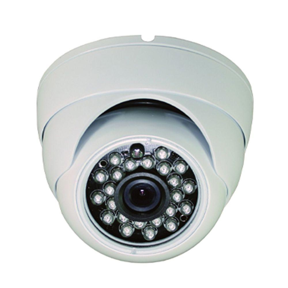 Wired Indoor or Outdoor Vandal Proof IR Dome Standard Surveillance Camera