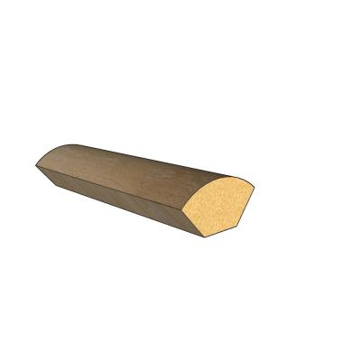 Dundee 0.47 in. Thick x 0.98 in. Wide x 94.49 in. Length Laminate Floor Quarter Round