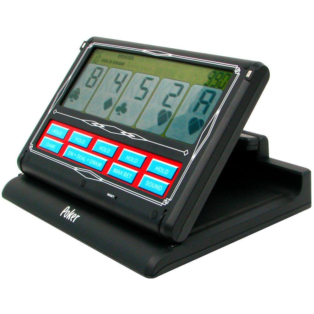 Trademark 7-in-1 Portable Video Poker Touch-Screen