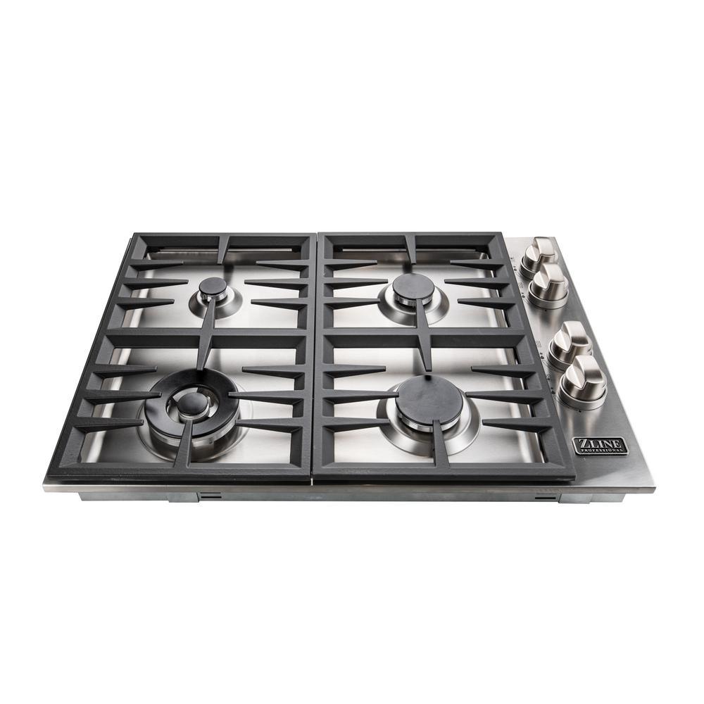 Zline Kitchen And Bath 30 In Gas In Stainless Steel Drop