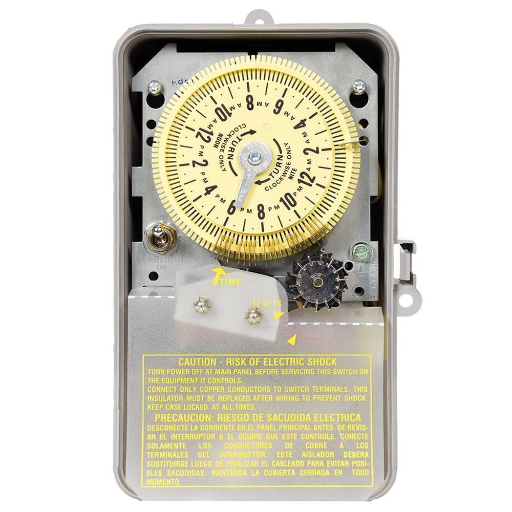 R8800 Series 3 Hp 220 Volt Indoor Outdoor Irrigation Sprinkler Timer
